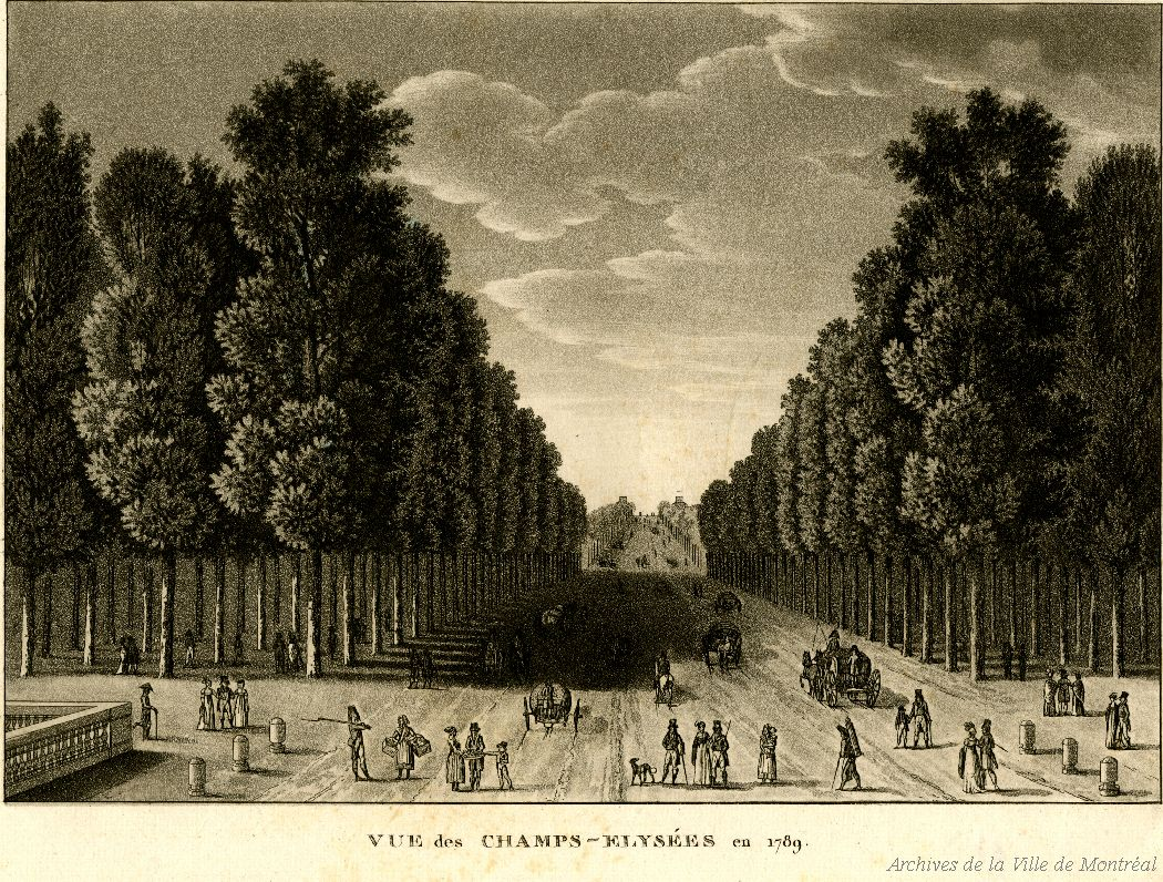Champs elysees 1789
