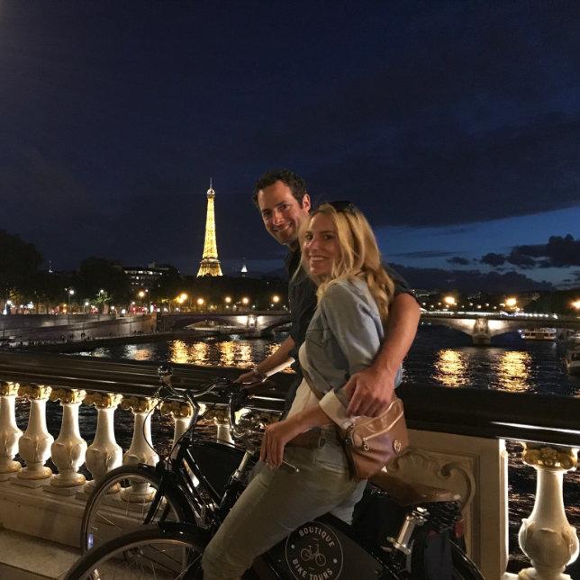 Paris Evening Bike and Boat Tour